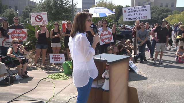 Hundreds protest Common Core in Capital: Protest Common, Hundreds Protest, Common Cores