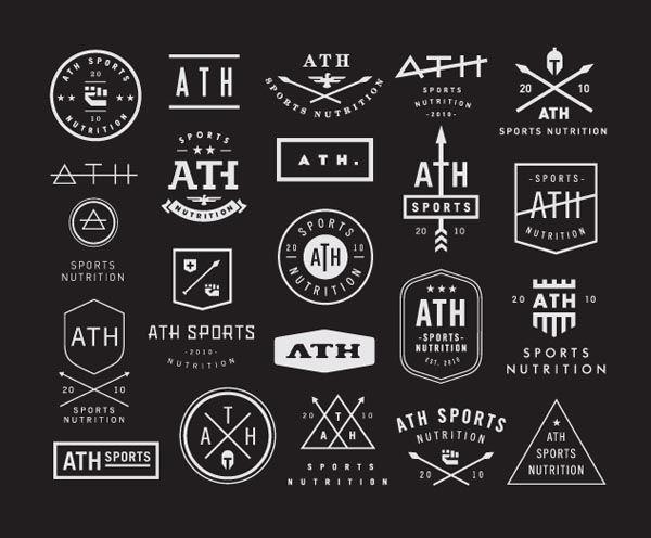 Vintage Logo Concepts by Nick Hood