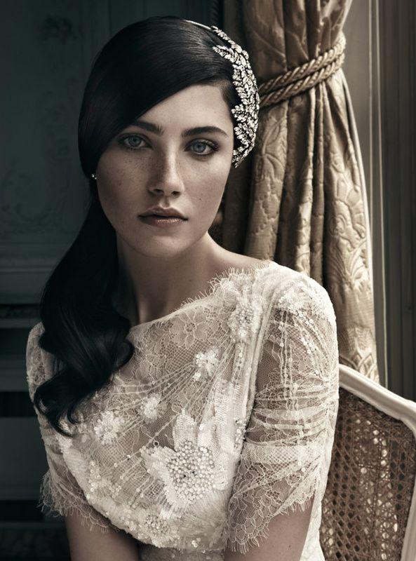 Vintage Trend: Kleid von Jenny Packham Bild: Wedding Affairs
