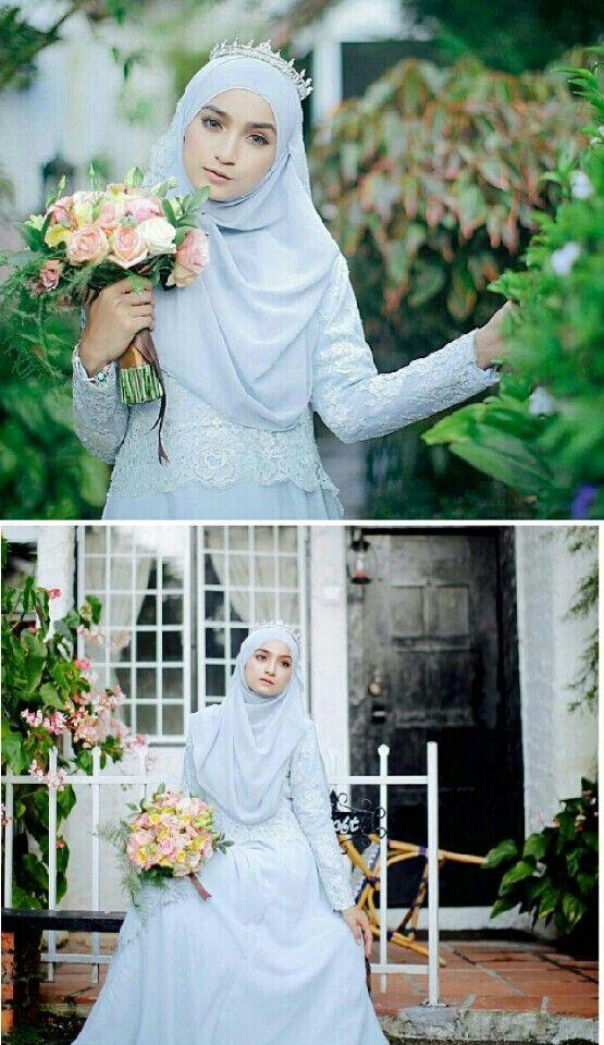 Hijab & wedding dress