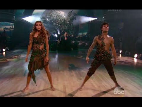 Dancing With The Stars Week 8 : Sadie Robertson & Mark - Contemporary - DWTS Season 19 Week 8 - YouTube. adam and eve dance :) i just dont know about the song