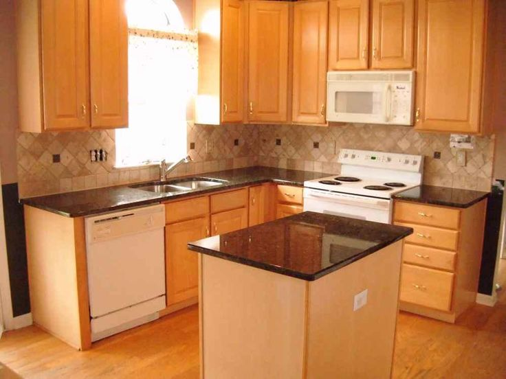 Kitchens brown color picture wall natural concepts cheap for Cheap ideas for kitchen countertops