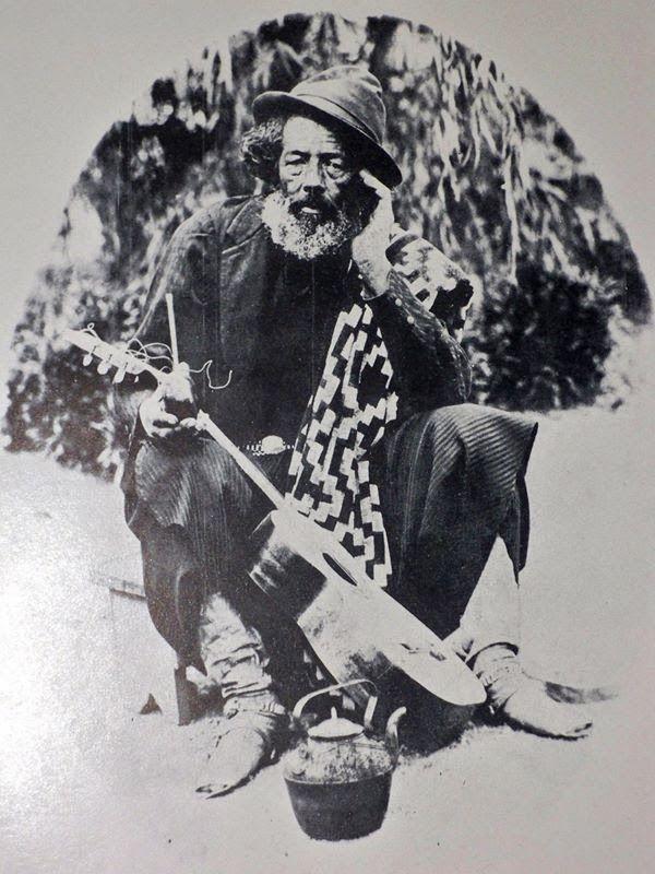 """""""Mateando sólo"""" (1880)"""