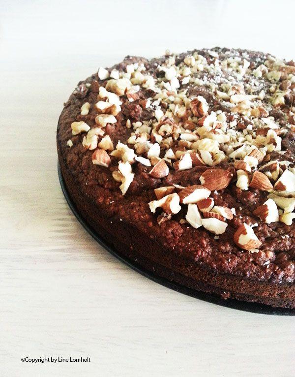 Gluten og sukkerfri chokoladekage