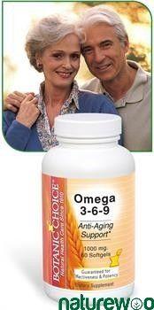 Botanic Choice - VC06 OMEG 0060 - Omega 3-6-9 1000 Mg