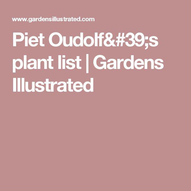 17 best images about piet oudolf design planting on for Piet oudolf plant list