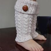 Toddler Leg Warmers - via @Craftsy