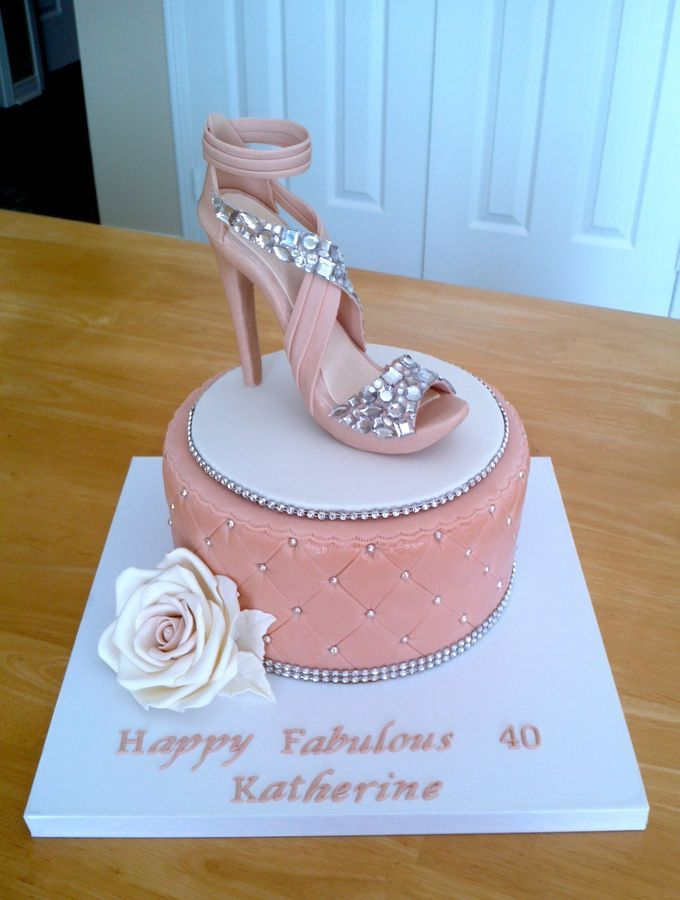 Happy Birthday Shoe Cake