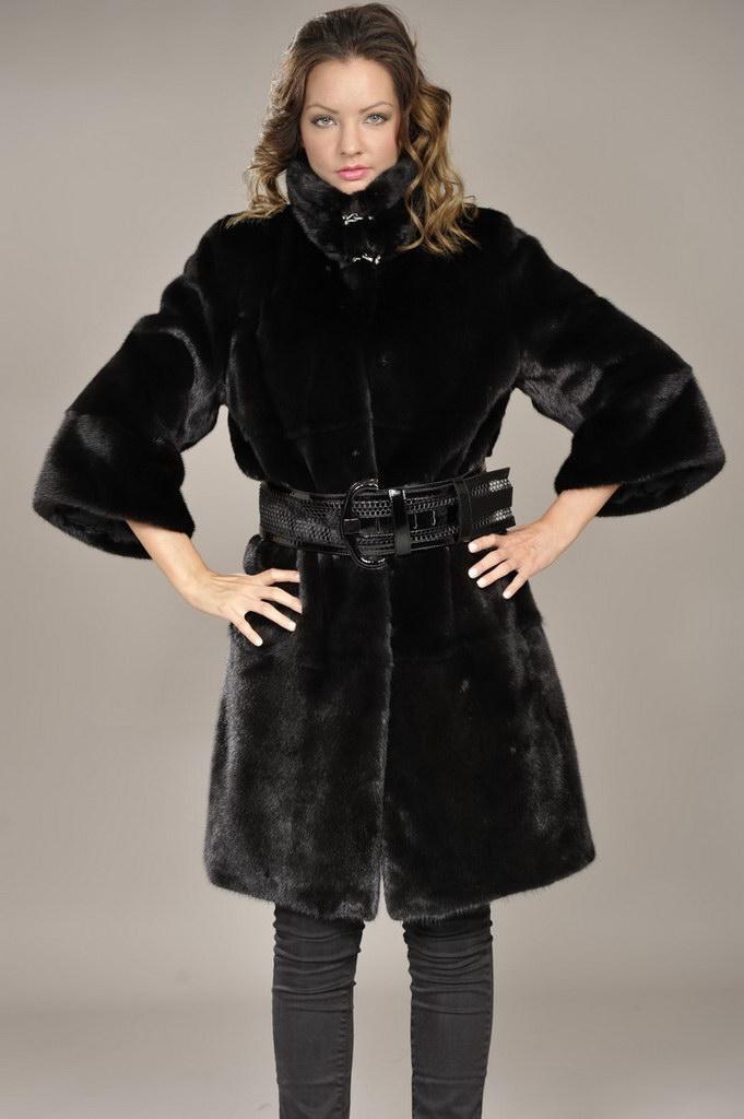 Blackglama mink coat by FINEZZA Furs