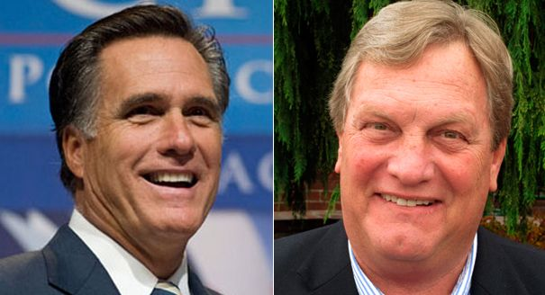 """GOP Rep. Mike Simpson, facing a tough Republican primary challenge next year, is getting the backing of an unexpected ally: Mitt Romney. Romney, the 2012 GOP presidential nominee, endorsed the veteran Idaho congressman on Monday in a statement Monday. """"I'm proud to endorse Mike Simpson for Congress. Mike Simpson is the conservative Republican..."""