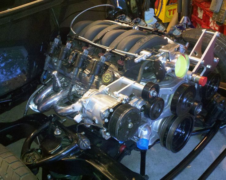 Matt McKahan pulls out the 3.8L V6 and drop in a 6.0L GM LKQ iron block LS engine