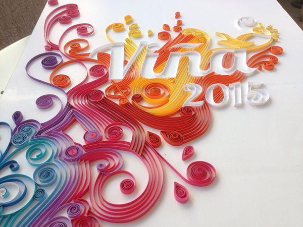 Propuesta de afiche para el Festival de Viña 2015Formato 70 x 50 cm.