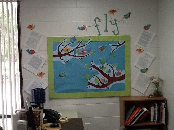 Classroom Ideas With Birds ~ Best ideas about bird bulletin boards on pinterest
