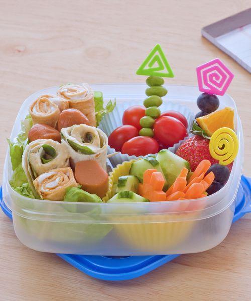 Das Pausenbrot und Snacks lassen sich auch gut am Vorabend vorbereiten.