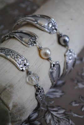Silver Spoon Jewelry - it sits beautifully on your wrist. Order on-line www.spinifexcollections.com.au