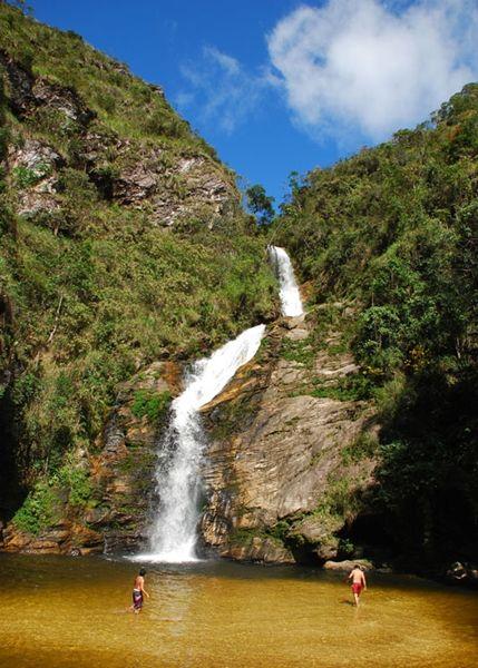 Cachoeira do Patrocínio Amaro – Ipoema - Minas Gerais - Brasil