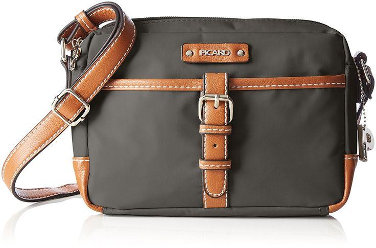 Picard Sonja Shoulder Bag 21 cm anthrazit: Amazon.de: Luggage EUR 34.95 [GERMAN STORE]