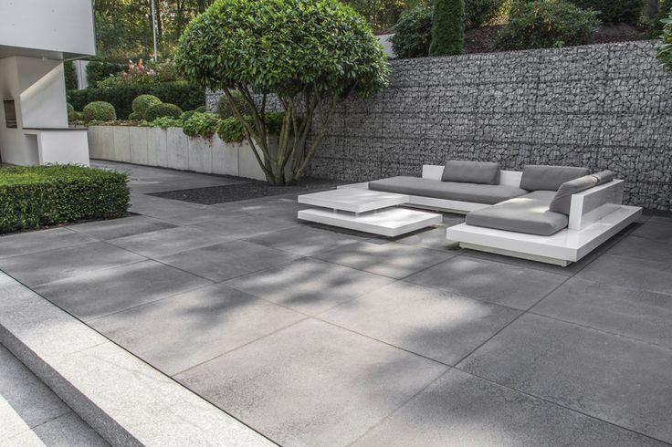 die besten 25 terrassenplatten grau ideen auf pinterest zufahrten bauhaus terrassenplatten. Black Bedroom Furniture Sets. Home Design Ideas
