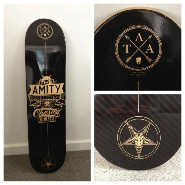 amity affliction skateboard - Google Search