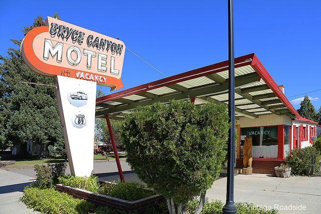 The Bryce Canyon Motel - Panguitch, UT.