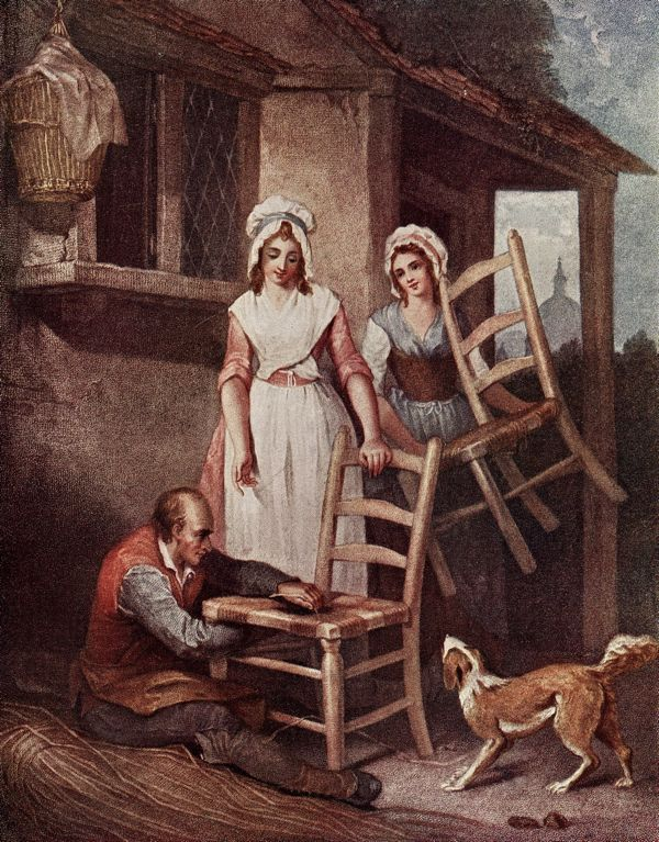 Old Chairs to Mend! Francis Wheatley (1747-1801) Cries of London series