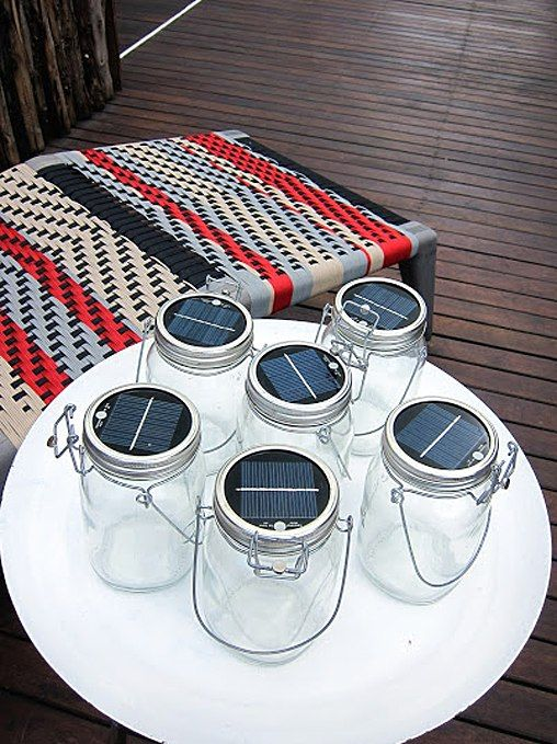Love these solar powered jars at Singita Mara River Camp! Photo by Susan Hack, lantern by Consol Glass.  www.adventuresinafrica.com