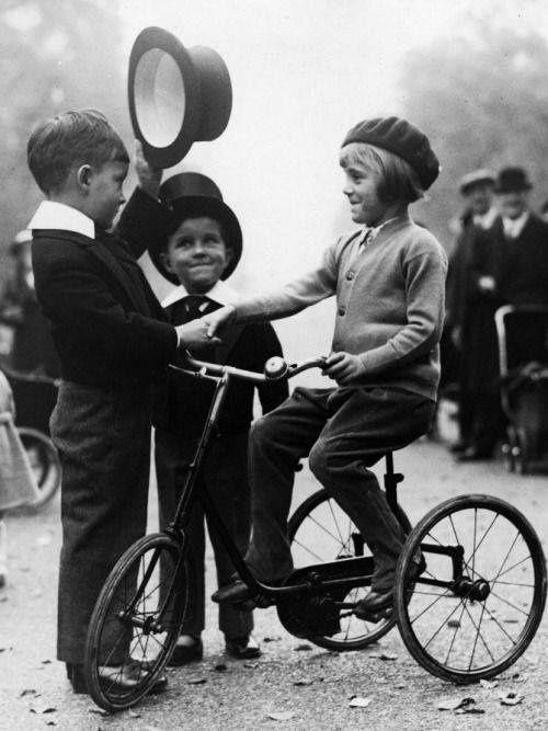 Les enfants bien élevés - 1924