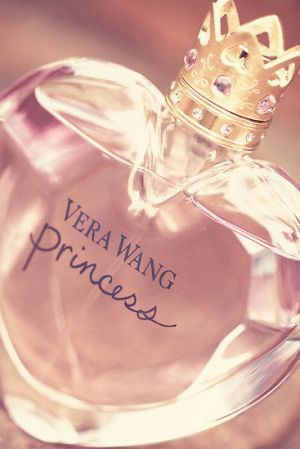 Vera Wang Princess perfume. This stuff smells simple, but sweet. I really recommend it , if you're willing to spend 40 dollars or more, depending on where you live.