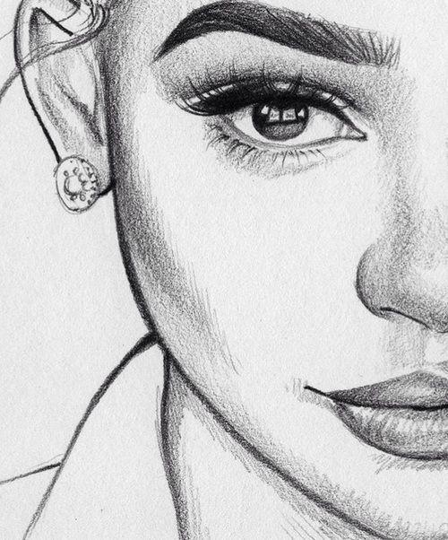 Kunst Zeichnungen – Mädchen, Liebe und schönes Bild auf We Heart It – #auf #Bild #Heart #liebe #M… –