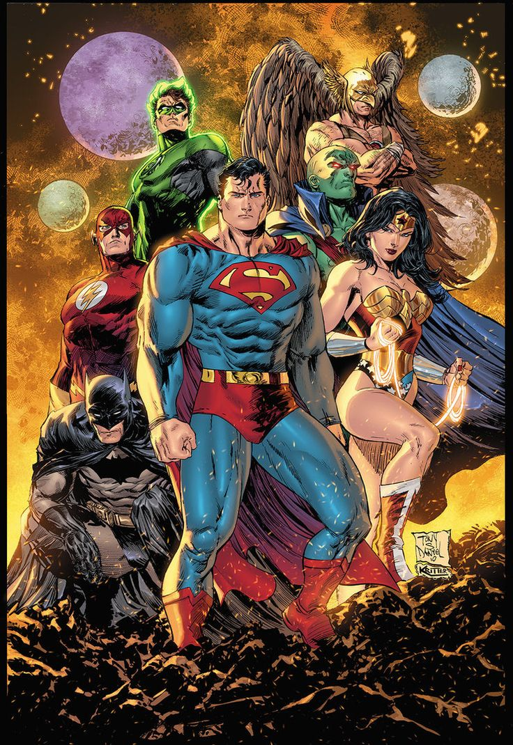 Justice League of America - Kyle Ritter
