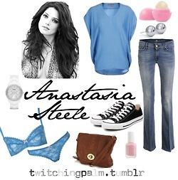 My Version of Anastasia Steele clothing style
