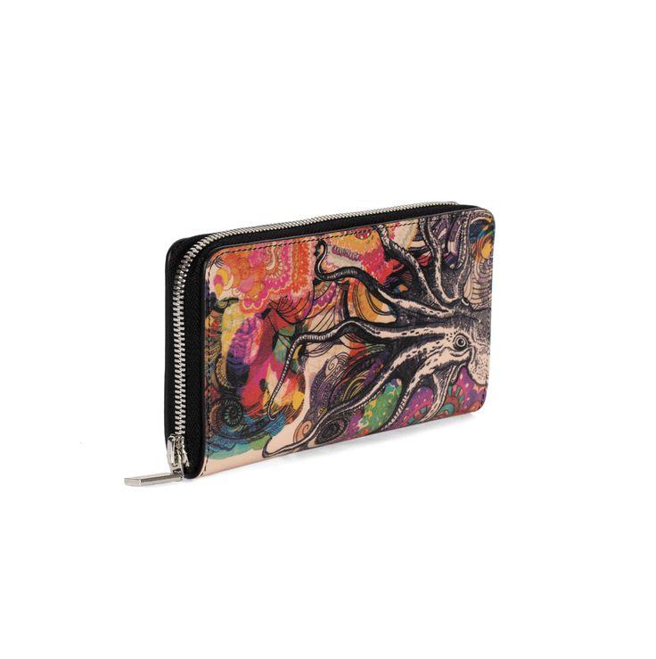 COLOURS OF MY LIFE | Wallet.  Designer Limited Edition; #WomenLeatherWallet #LuxuryWallet #DesignerWalletsUK