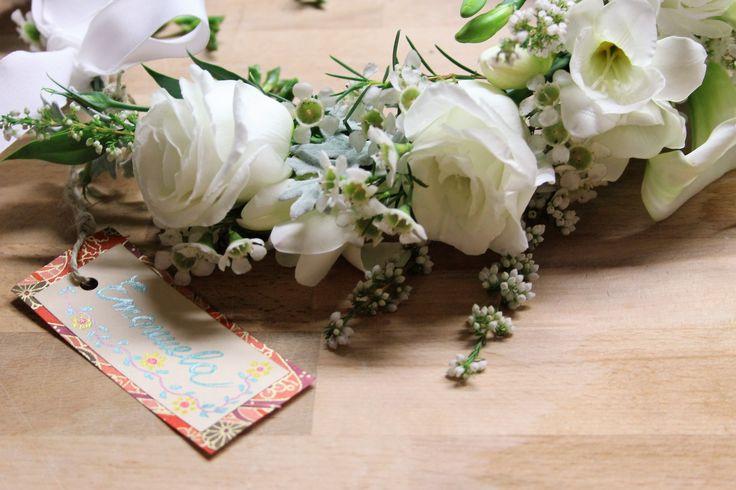 lisianto, tulipano, rosa, fresia, wax flowers, erica, calla