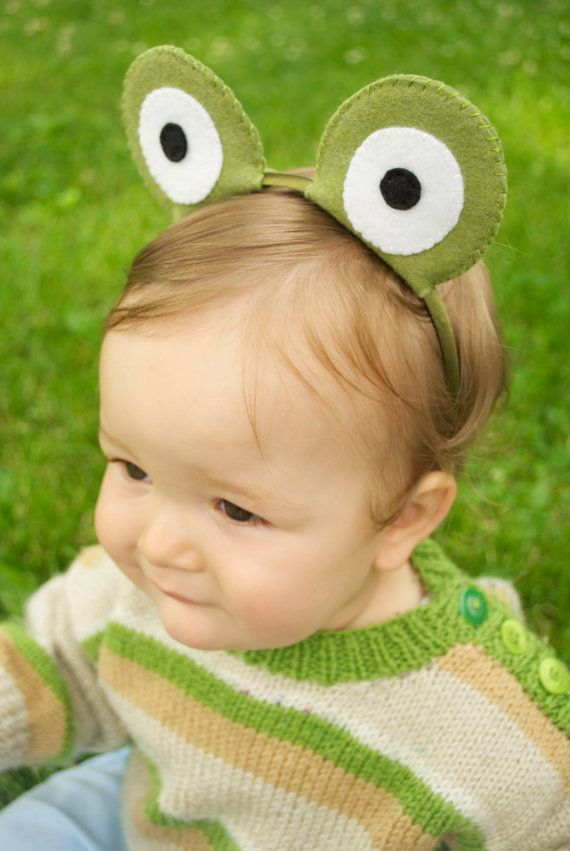 May 13th is is Frog Jumping Day! #everydayfun (frog headband)