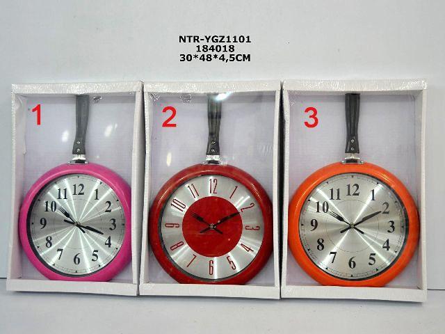 Büyük Tavalı Mutfak Duvar Saati  Ürün Bilgisi  Ölçüleri : 30 cm x 48 cm x 4,5 cm Dekoratif pratik mutfak saati