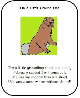 Classroom Freebies: Ground Hog Poems! (Yes I am behind in the times!)