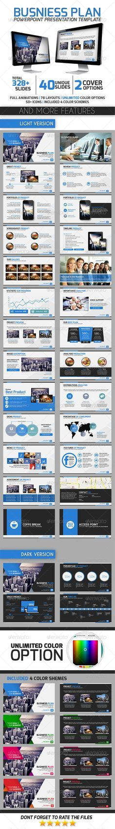 The  Best Business Plan Presentation Ideas On