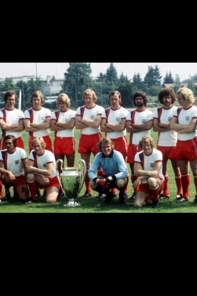 Bayern Munich campeon europeo 1976. Tricampeon de Europa