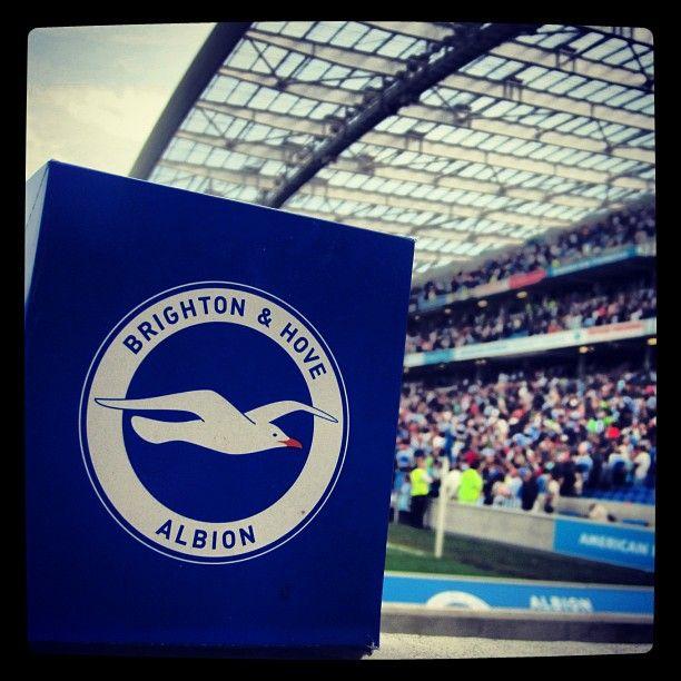 Brighton & Hove Albion sign #bhafc