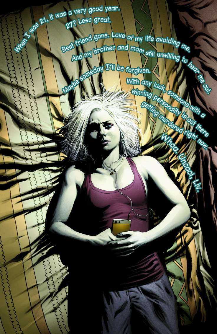 Think life's hard? See how much harder the undead have it on the season premiere of iZombie: http://www.cwtv.com/shows/izombie