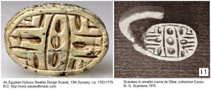 Foto del giorno; lo scarabeo di Olbia:originale Hyksos?