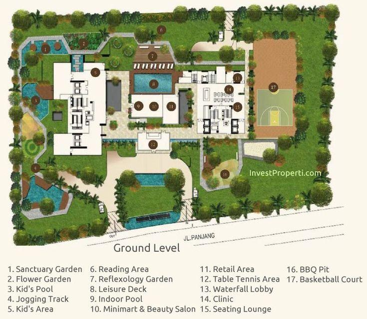 Wang Residence Ground Floor Plan
