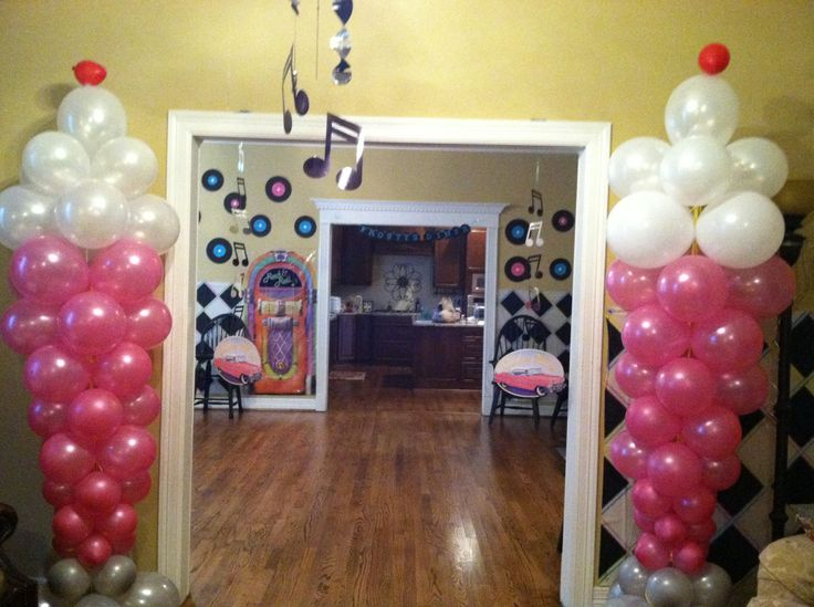 50u0027s Party - Balloon Milkshakes! & 22 best 50s. B-day party images on Pinterest | Birthday party ideas ...