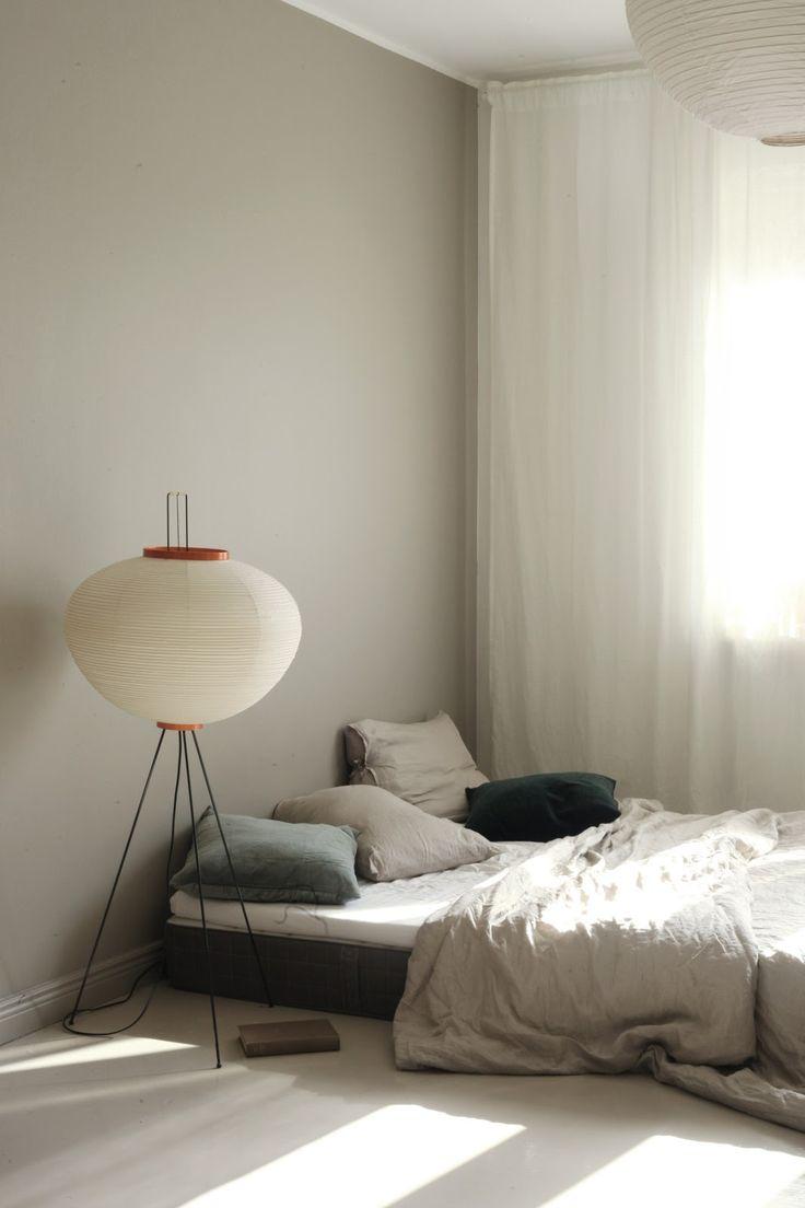 Bed on the floor via Varpunen