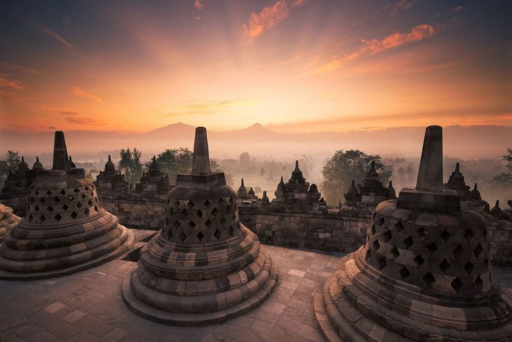 25 Reasons Never to Travel to Indonesia. I want to explore! 1. borobudur