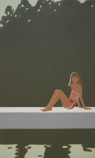 Currently exhibition @Colby Wyckoff College Museum of Art...  Alex Katz: Maine/New York  July 14, 2012 - December 30, 2012  BOULOS GALLERY,MARLBOROUGH GALLERY,PARKER POE CHARITABLE TRUST GALLERY