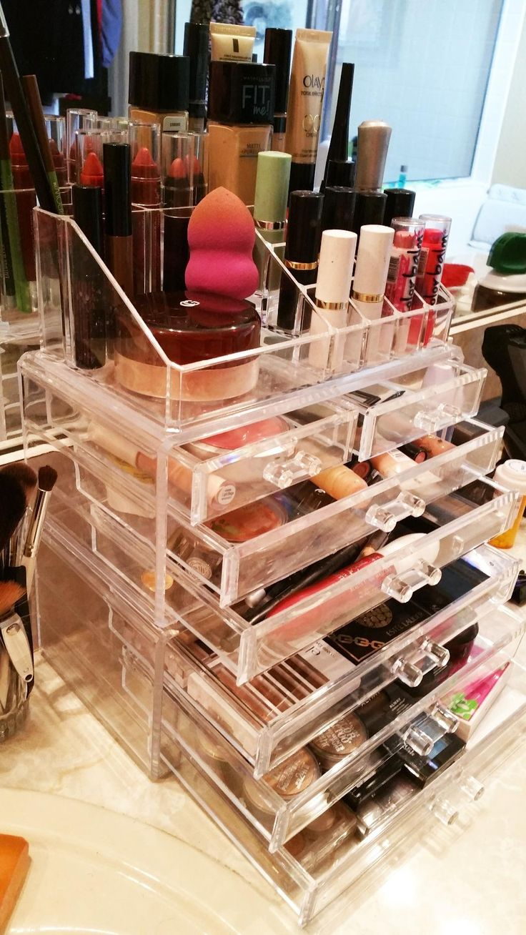 10 best Acrylic Makeup Organizer images on Pinterest Acrylic