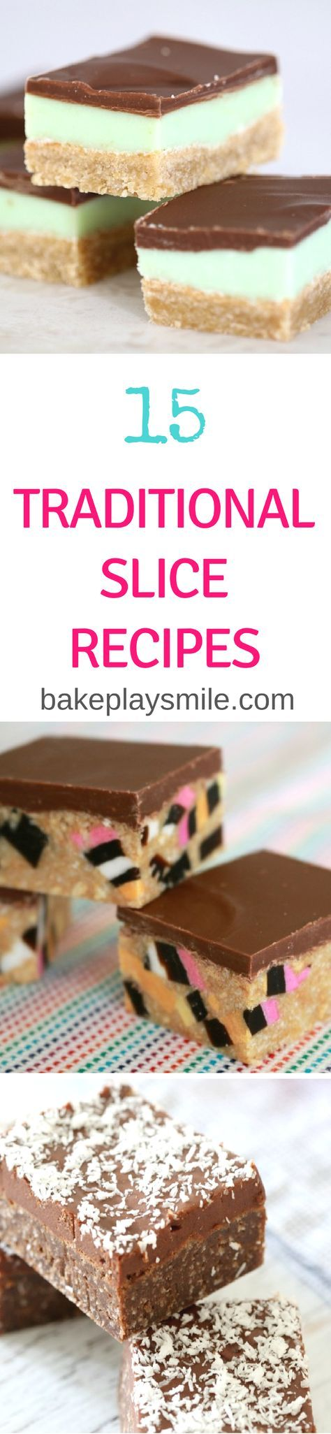 15 Classic & Traditional Slice Recipes