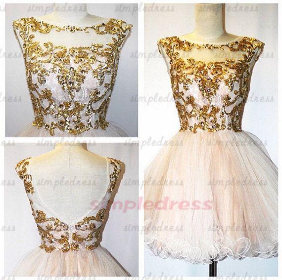 short prom dresses applique prom dresses organza by Simpledress, $119.00