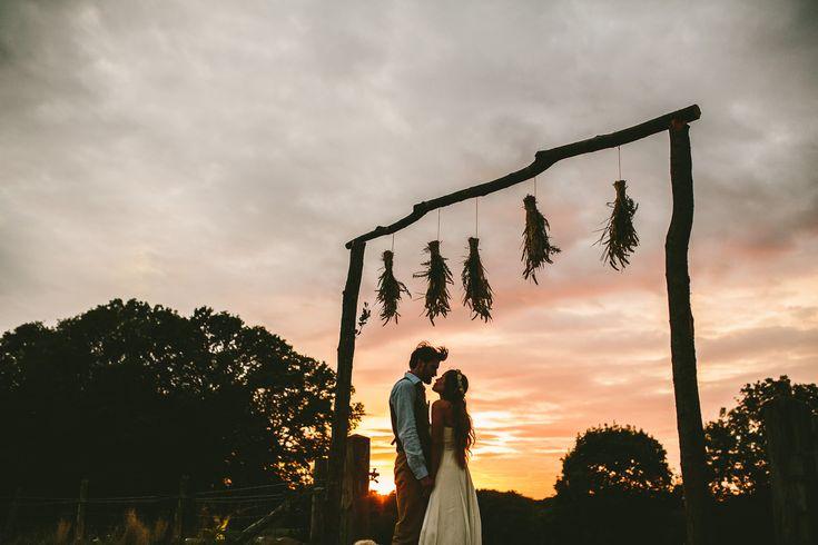 Nachhaltig 'grüne' Hochzeit mit rustikalem Flair | Hochzeitsblog The Little Wedding Corner